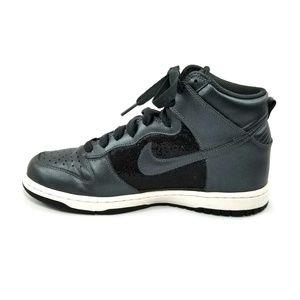 Nike Womens Dunk High 6.0 Sneakers Shoes Glitter